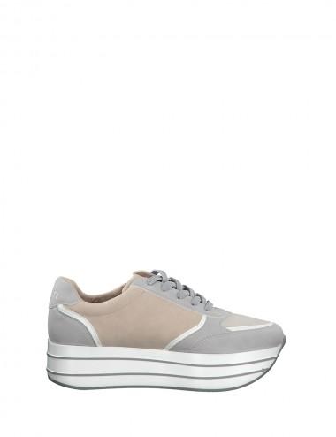 Dámske tenisky béžovo - šedé