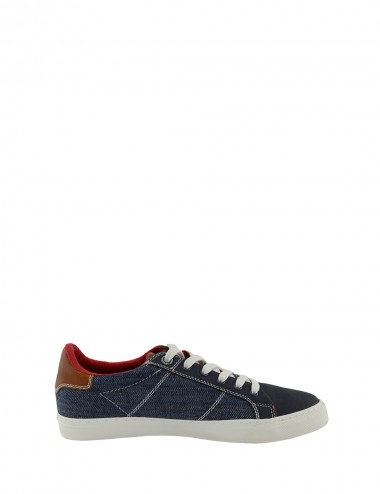 Pánske textilné tenisky modré