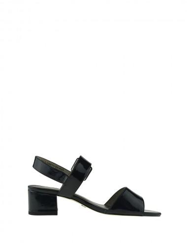 Dámske štýlové sandále modré