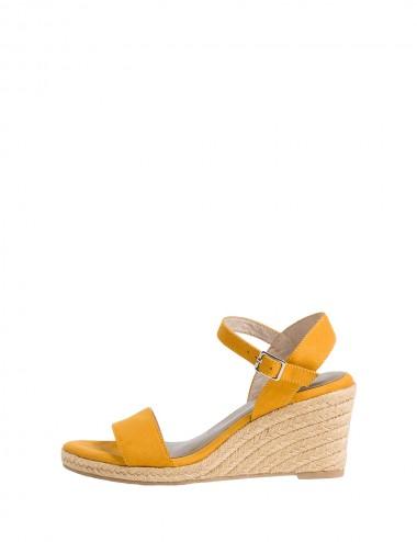 Dámske sandále žlté